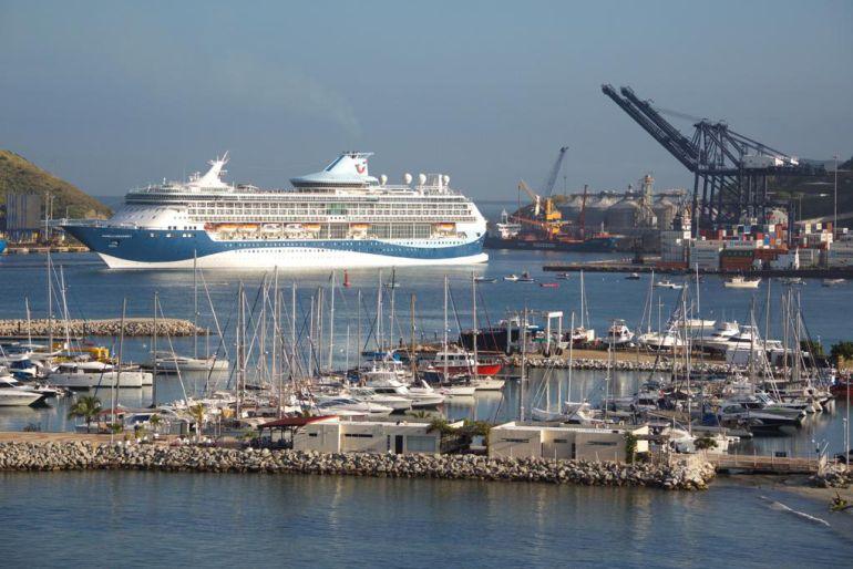 Otro crucero arribó a Santa Marta con turistas británicos y estadounidenses