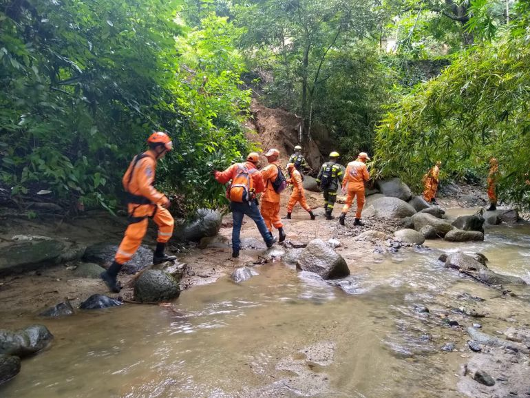 Un río se llevó a un turista bogotano en la Sierra Nevada de Santa Marta