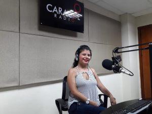 Caroline Quintero, y su testimonio de vida, superación y lucha