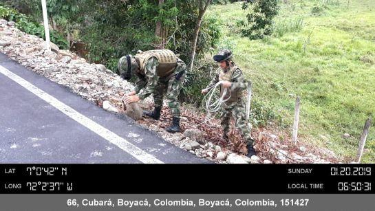 Arauca: Ejército frustra atentado con explosivos en la vía Boyacá