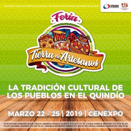 Feria Tierra de Artesanos, la tradición de los Pueblos en el Quindío