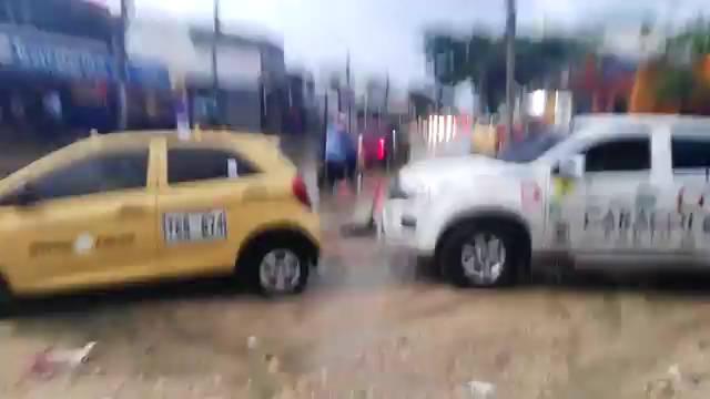 Lluvias causan estragos en Cartagena
