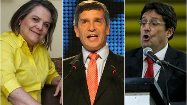 López y Pardo, sólidos en intención de voto para Alcaldía de Bogotá
