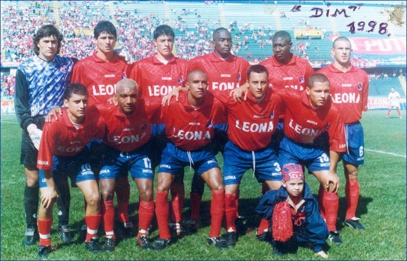 El Independiente Medellín de 1998 en El Pulso del Fútbol ...