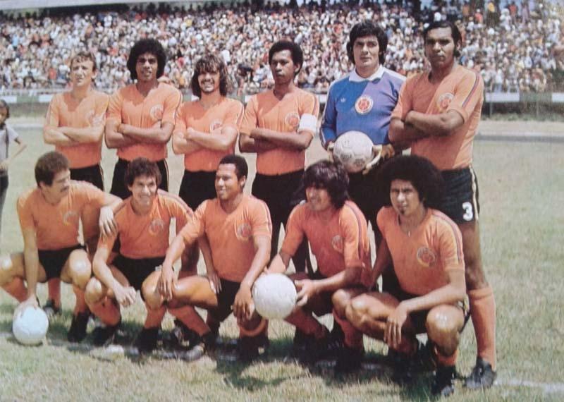 La selección Colombia de 1977 en El Pulso del Fútbol