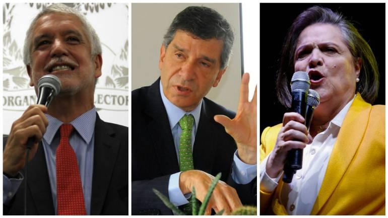 """Encuesta elecciones alcaldía de Bogotá: Lucha """"voto a voto"""" entre Peñalosa y Pardo por Alcaldía de Bogotá"""