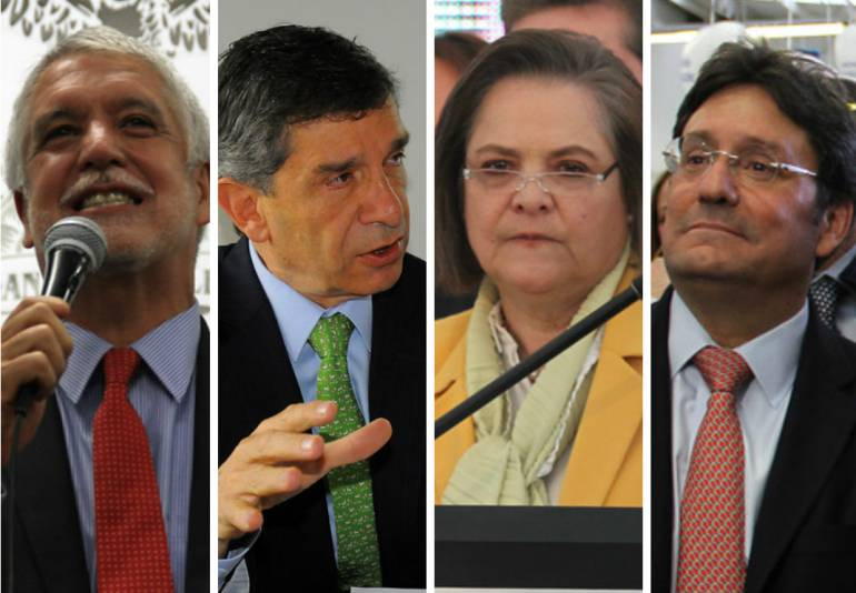 Pardo Peñalosa alcaldía de Bogotá: 'Voto finish' entre Peñalosa y Pardo por la Alcaldía de Bogotá