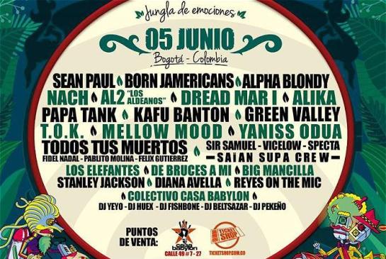 Jamming Festival 2016: bandas invitadas y sorpresas: Bogotá se prepara para la gran fiesta del reggae con el Jamming Festival