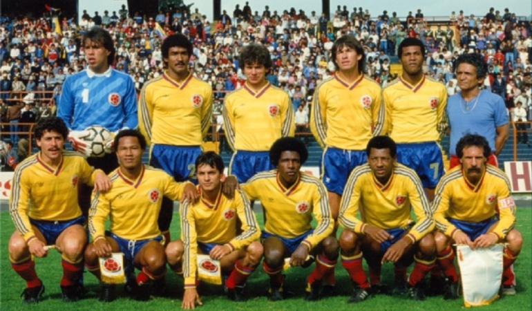 Selección Colombia - Eliminatorias 1985