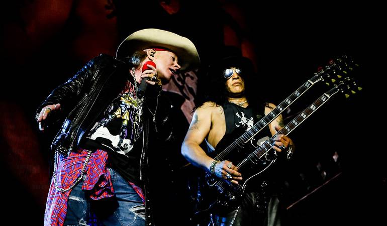 #EspecialesCaracol: 24 años después Guns and Roses regresa a Colombia