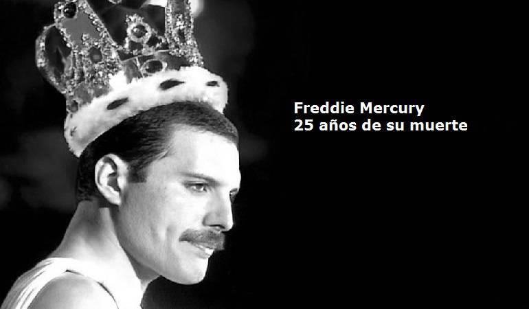 25 años de la muerte de Freddie Mercury