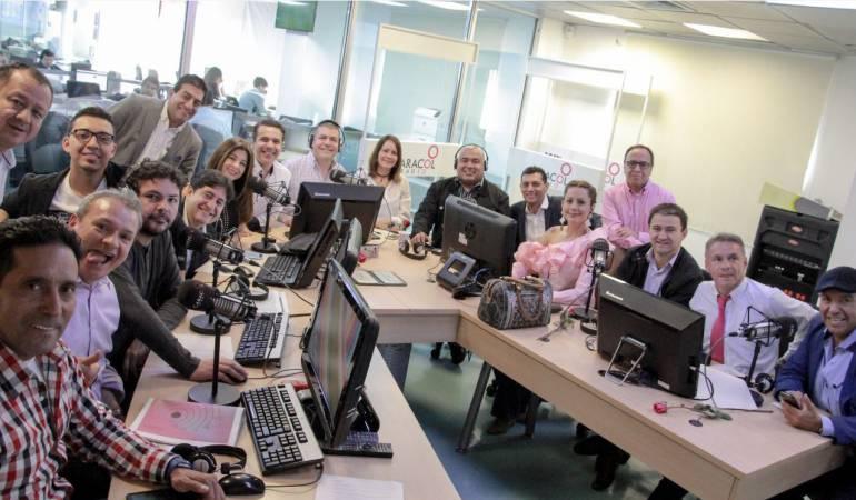 El equipo completo de La Luciérnaga se reunió para la celebración de los 25 años del programa.