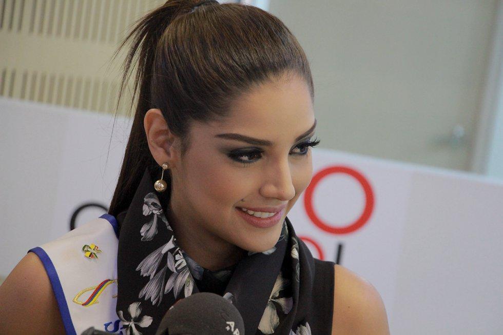 Ella es Laura González, actual Señorita Colombia.
