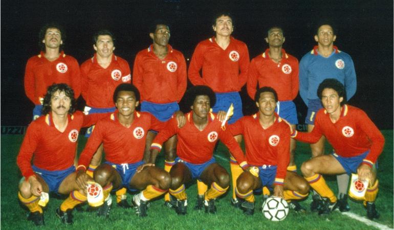 Selección Colombia de 1985 ante Brasil