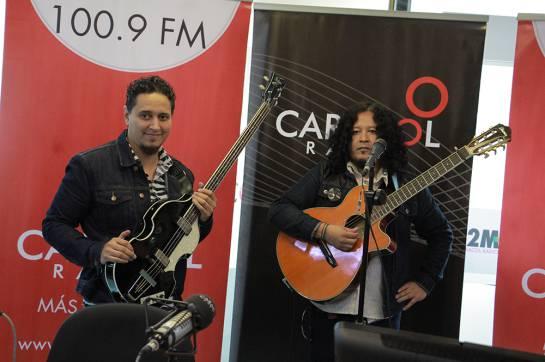 """La Santa Cecilia en Caracol Radio: """"Rock al Parque fue un viaje inolvidable"""": La Santa Cecilia"""