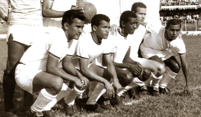 Delantera del Unión Magdalena de 1967