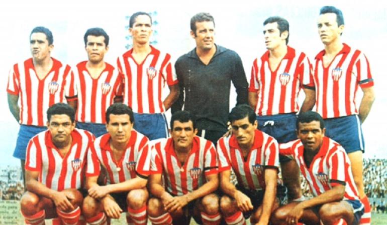 El Junior 1968 con Garrincha