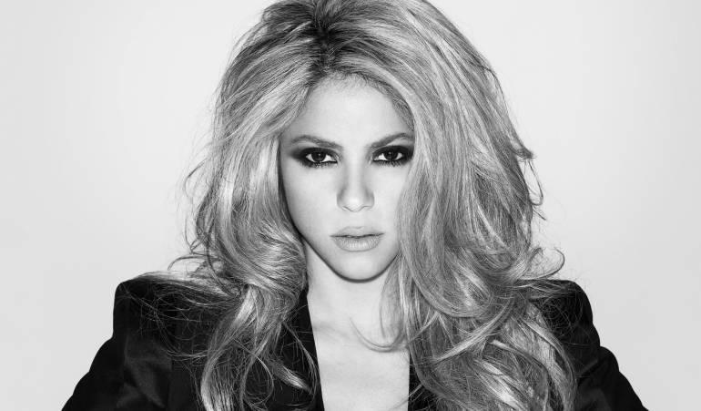 Shakira obtiene disco de platino por 'El Dorado'
