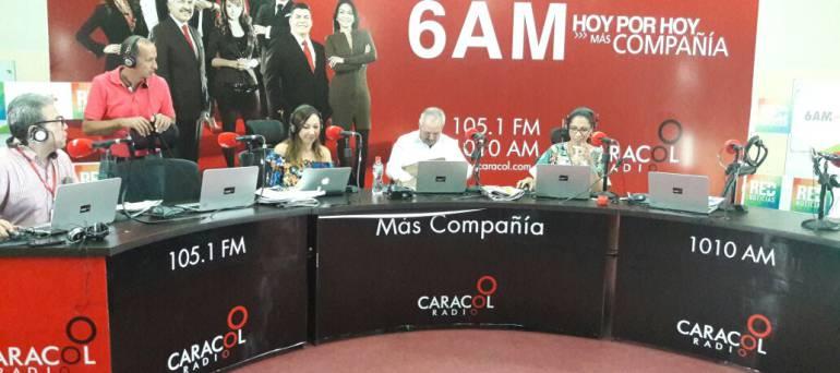 6AM en Neiva: Caracol Radio origina desde Neiva, la capital del bambuco y las achiras