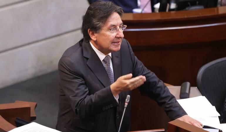 JUSTICIA ESPECIAL PARA LA PAZ: Todas las bancadas debieron votar la JEP: Néstor Humberto Martínez