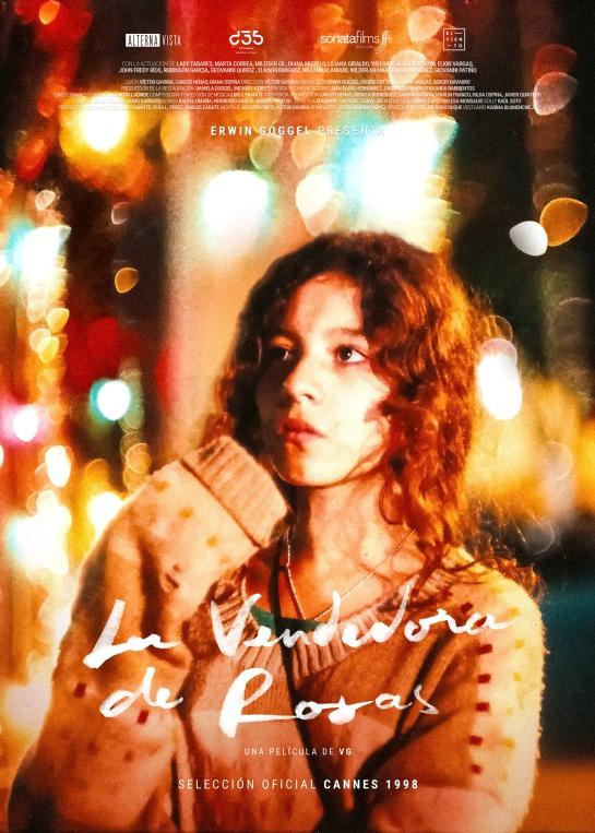 La Vendedora de Rosas: Se conoce el afiche oficial de La Vendedora de Rosas remasterizada