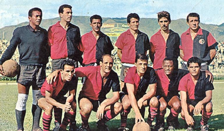 El Cúcuta subcampeón de 1964