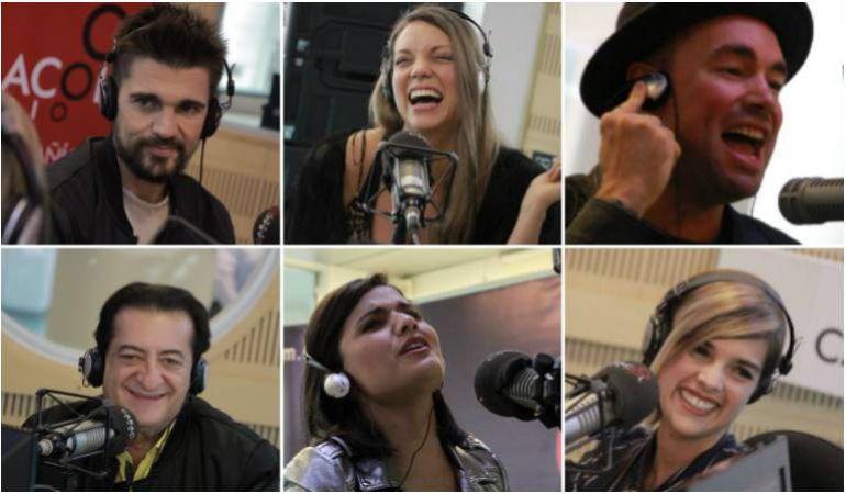 Artistas ganadores y nominados a los Latin Grammy