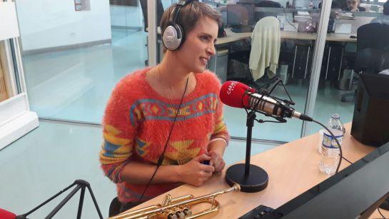 """Maite Hontelé, Orquesta Aragón: Maite Hontelé: """"A la Orquesta Aragón le encantó cuando toqué mi trompeta"""""""