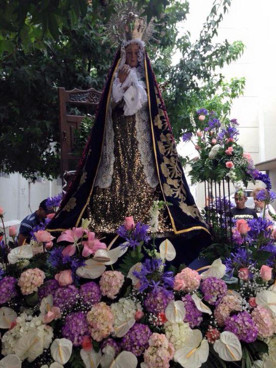 Desfile de la Virgen de la Macarena en la Feria de Manizales: Desfile de la Virgen de la Macarena, devota tradición en la Feria de Manizales