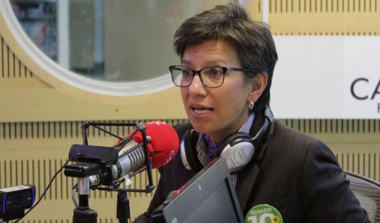 Claudia López Hora20: En Bogotá se perdió el control de la Policía: Claudia López