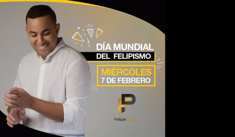 Felipe Pelaez de cumpleaños