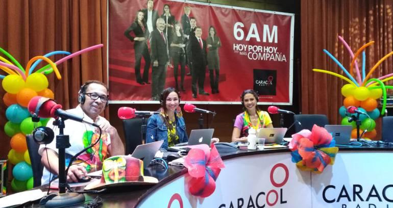 6AM Hoy Por Hoy: El Carnaval de Barraquilla se vive en 6AM Hoy por Hoy