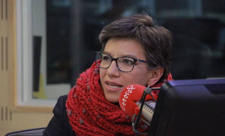"""Llamado de Claudia López: """"demos el debate, pero no mintamos"""""""