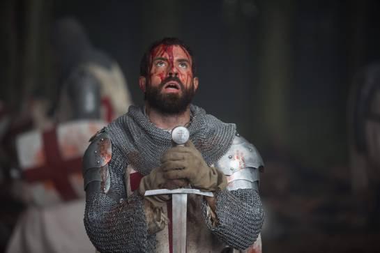 History Channel reconstruyó estudios que replican la Europa de 1307.: Knightfall: La guerra por el santo grial