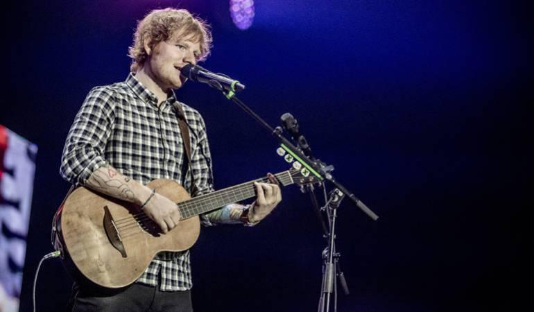 Ed Sheeran artista con mas ventas en el mundo en el 2017
