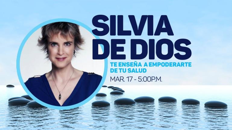 La actriz Silvia de Dios hablará este sábado sobre alimentación saludable