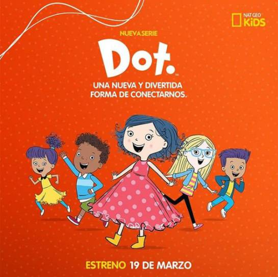 Programas NatGeo Kids: 'Dot', la serie que empodera a las niñas ante la tecnología
