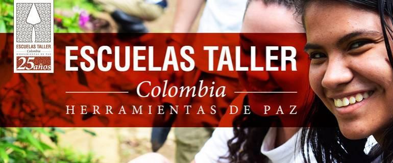 Lo Más Caracol: Escuelas taller Colombia: Herramientas de paz