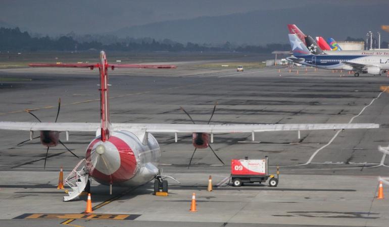 Pista del aeropuerto El Dorado