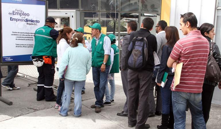 Crece el desempleo en Colombia
