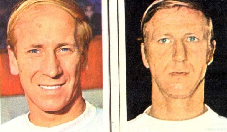 Jack y Bobby Charlton
