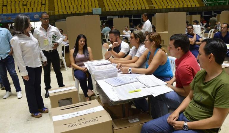 Elecciones presidenciales encuesta: Los colombianos están conformes con la organización electoral