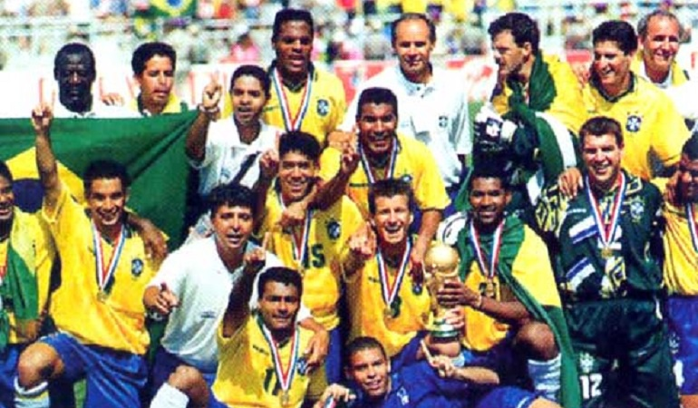 Brasil gana mundial 1994.