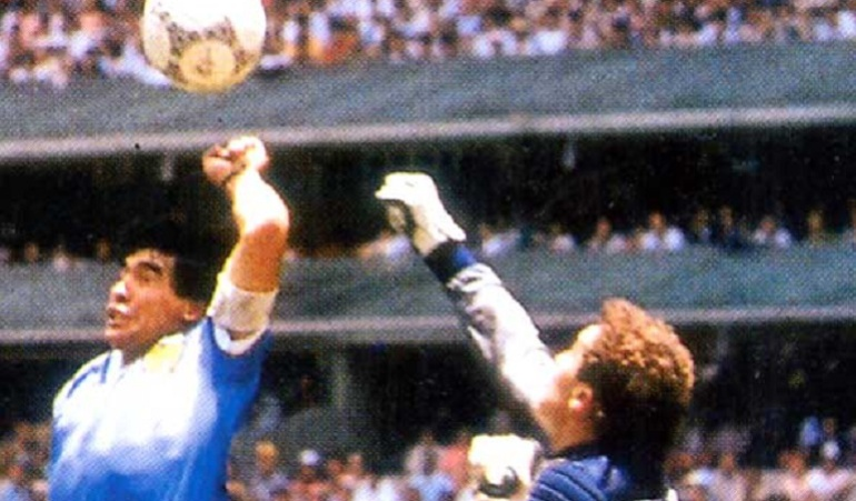 Maradona, Argentina contra Inglaterra, Mundial México 86