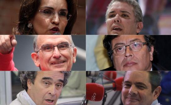 ¿Qué revela el rostro de cada candidato por la presidencia de Colombia?