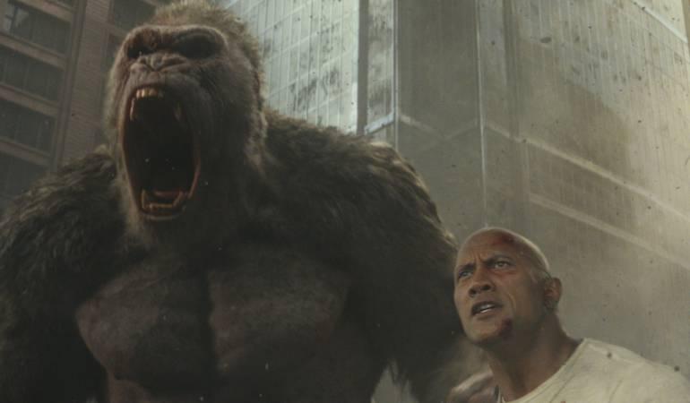 Rampage: Devastación, la nueva cinta de acción de La Roca.: La Roca enfrenta monstruos gigantes en Rampage: Devastación
