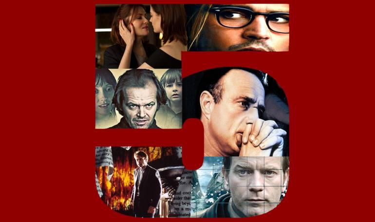 Top 5 de películas de suspenso cuyo protagonista es un escritor: Top 5 de películas sobre escritores, en el terreno del suspenso