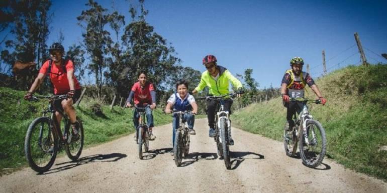 Turismo colombiano en bicicleta