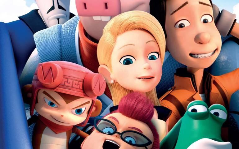 Película animada Bling Los Superhéroes: Los Superhéroes, una película discreta en historia y animación