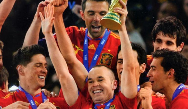 Mundial Sudáfrica 2010, España.